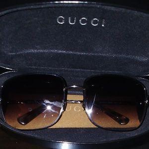 Gucci sunglasses gradient lenses unisex